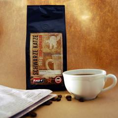Schwarze Katze - Soli-Espresso