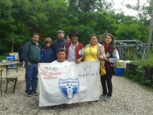 Mitglieder der COMSA mit Olli von Five Roasters