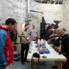 Roasters United Cupping