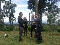 Treffen mit Oscar Mendez im Valle Central