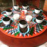Cupping-Tisch
