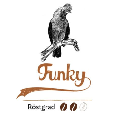"""Funky"" filter coffee"