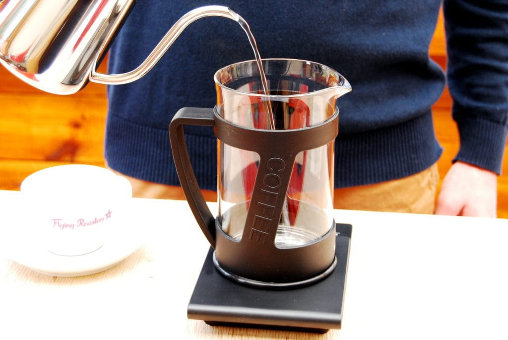 French Press – Schritt 1