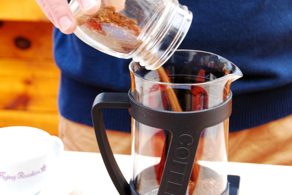 French Press – Step 2