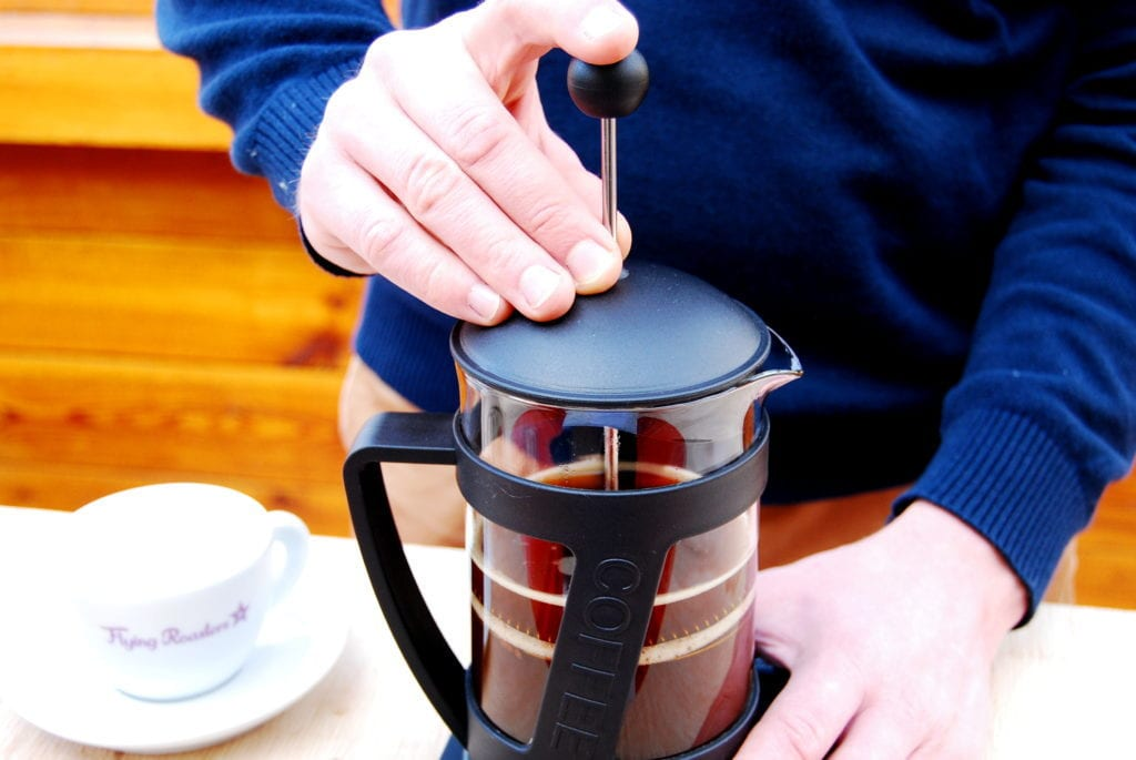 French Press – Schritt 5