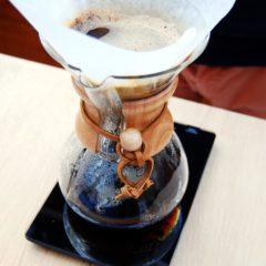 Kaffee-Zubereitung mit der Chemex