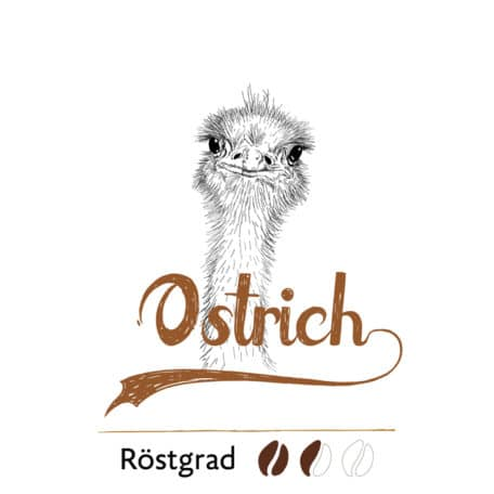 Ostrich coffee from Ethiopia