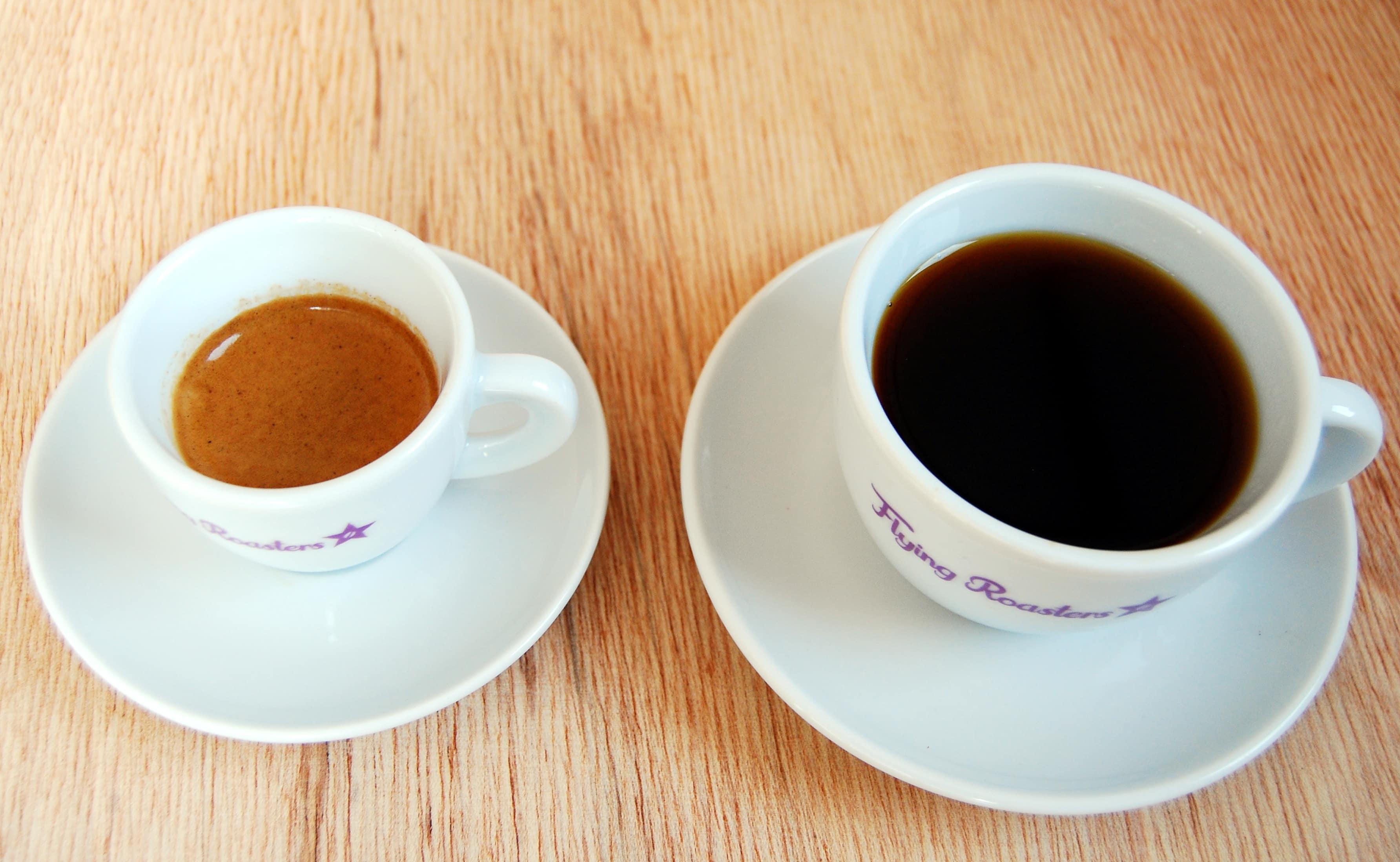 Unterschied zwischen Filterkaffee und Espresso Röstung