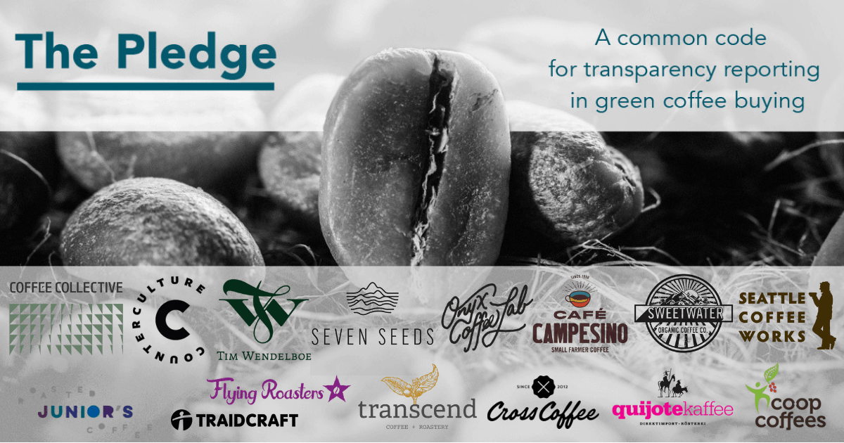 transparency coffee the pledge