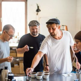 Flying Roasters Cupping