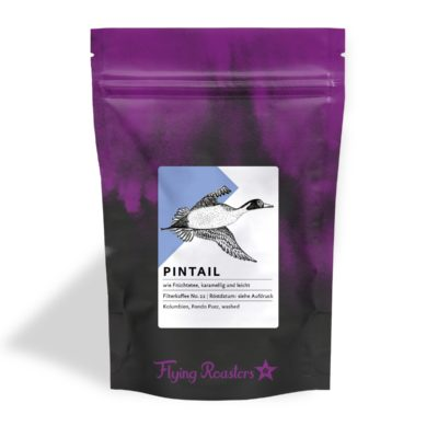 Coffee bag for Pintail filter coffee from Colombia