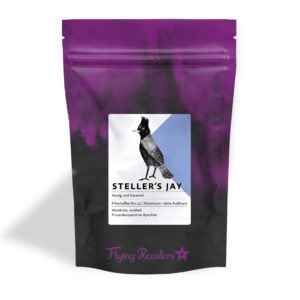 Coffee bag for filter coffee Steller's Jay from women's cooperative in Honduras