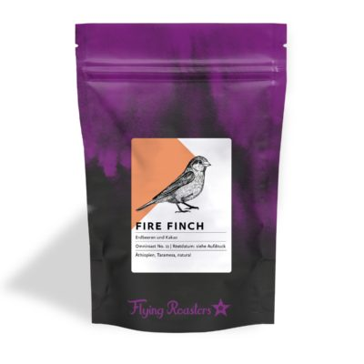Coffee bag for fruity Ethiopian coffee Fire Finch