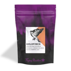 Kaffeetüte für Omniroast Goldfinch – süßer Kaffee aus Guatemala