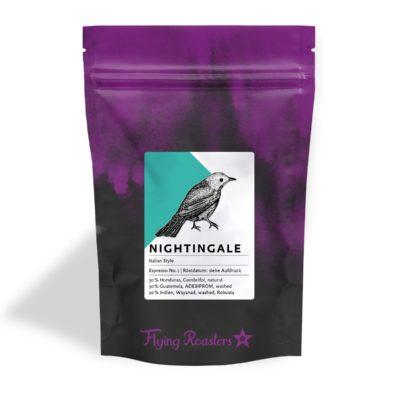 Coffee bag for Espresso Nightingale – Italian style