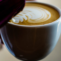 latte art pitcher